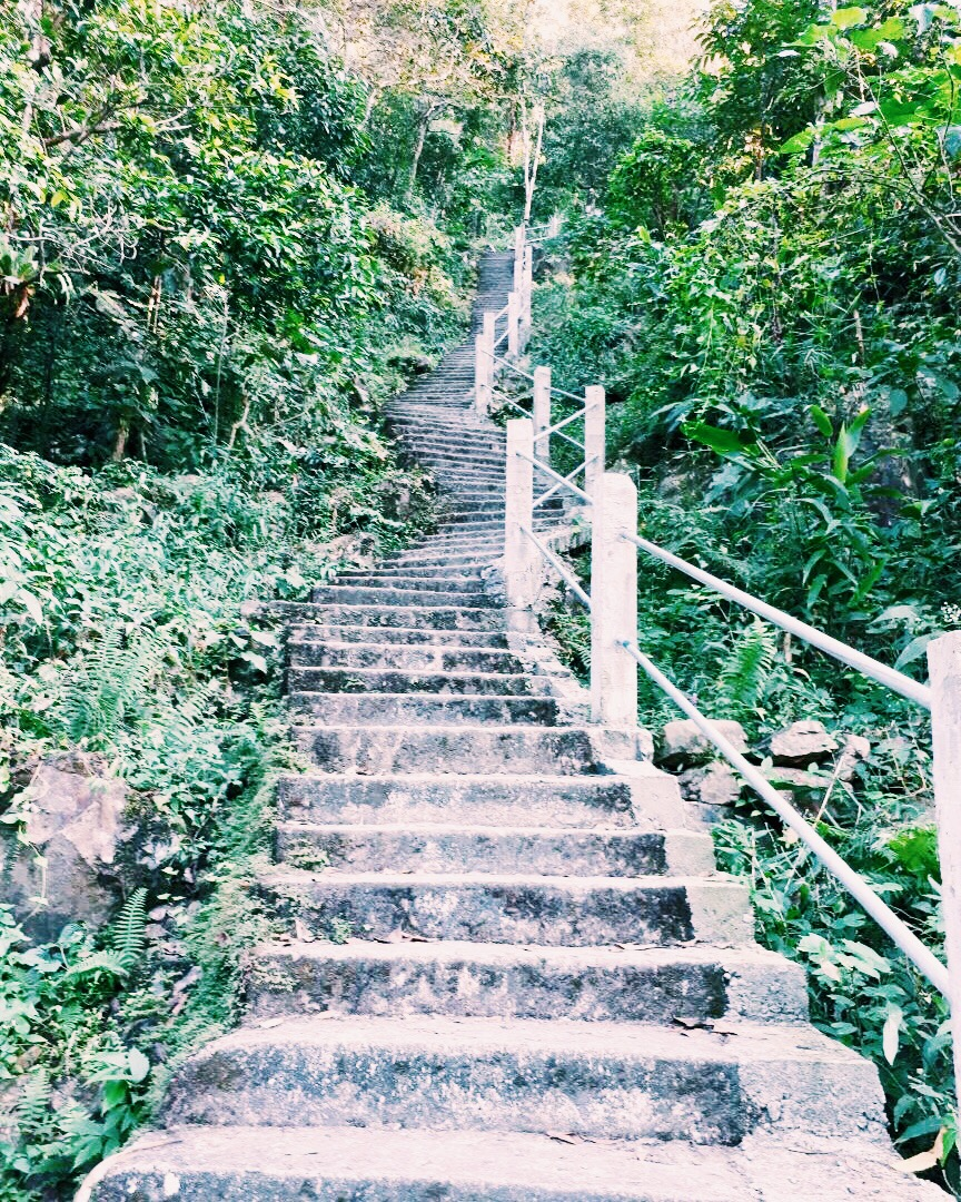 It felt like the stairway to heaven at many points during the trek